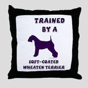 Wheaten Ppl Throw Pillow