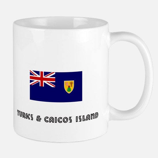 I HEART TURKS & CAICOS ISLAND FLAG Mug