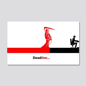Deadline Wall Decal