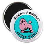 Sugar Poodle Shop Magnet