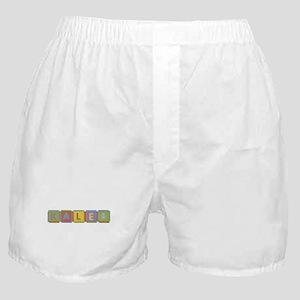 Kaleb Foam Squares Boxer Shorts