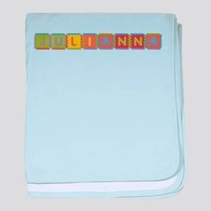 Julianna Foam Squares baby blanket
