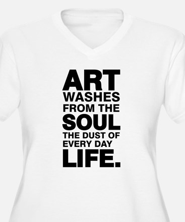 Earth Without Art Plus Size T-Shirt