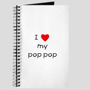I love my pop pop Journal