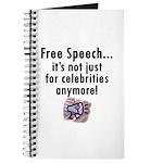Free Speech..Not Just Celebrities Journal