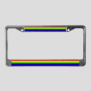 """Rainbow"" License Plate Frame"