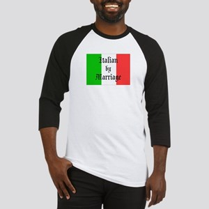 Italian by Marriage Baseball Jersey