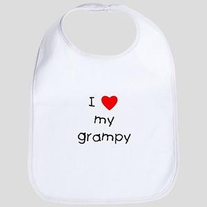 I love my grampy Bib