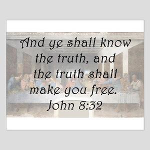 John 8:32 Posters