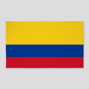 Flag of Colombia 3'x5' Area Rug