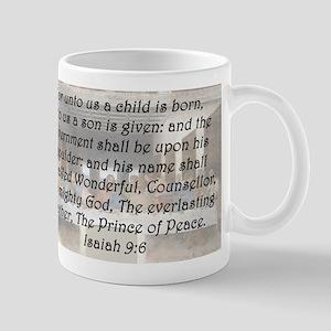 Isaiah 9:6 Mug