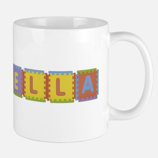 Izabella Foam Squares Mug