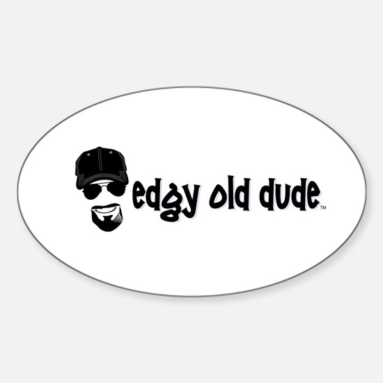 Edgy Old Dude for Dad to show on his car. Decal