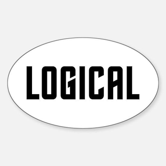 Logical Sticker (Oval)