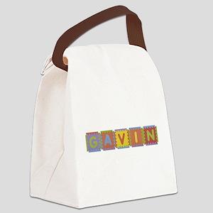 Gavin Foam Squares Canvas Lunch Bag