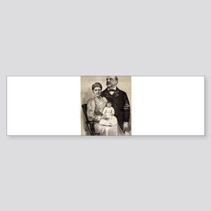 The Cleveland family - 1893 Sticker (Bumper)