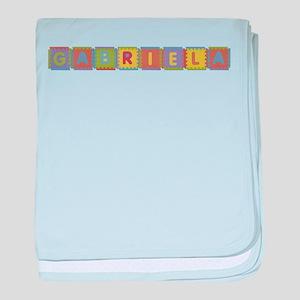 Gabriela Foam Squares baby blanket