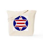 Hebrew Flag Emblem Tote Bag