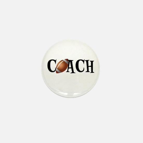 Football Coach Mini Button
