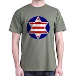 Hebrew Flag Emblem Dark T-Shirt