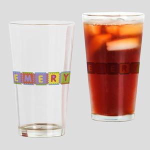 Emery Foam Squares Drinking Glass