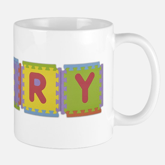Emery Foam Squares Mug