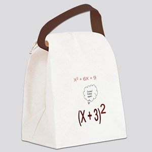 Foiled Again Canvas Lunch Bag