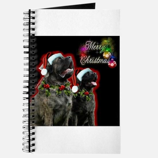 Brindle Merry XMas Journal