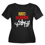 BROSCIENCE Plus Size T-Shirt
