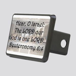 Deuteronomy 6:4 Hitch Cover