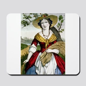 The farmers daughter - 1900 Mousepad