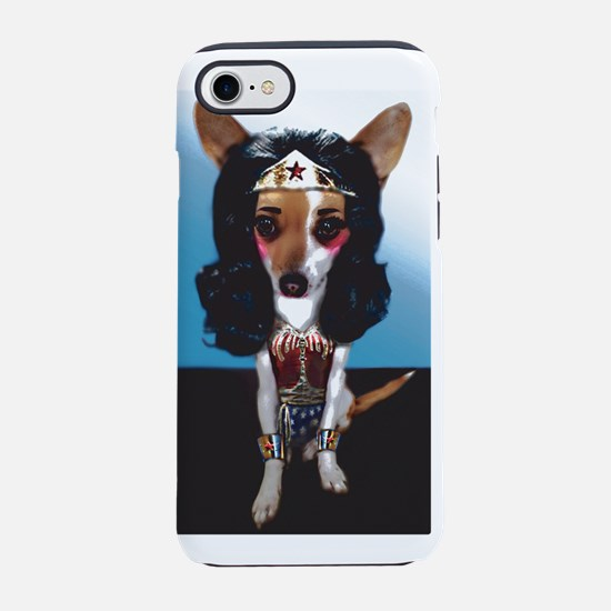 Wonder Woman Pup iPhone 7 Tough Case