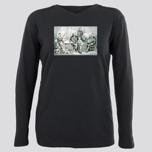 The Garfield family - 1882 Plus Size Long Sleeve T