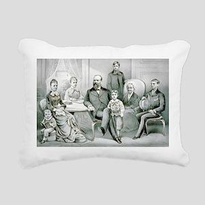 The Garfield family - 1882 Rectangular Canvas Pill