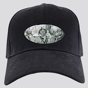 The Garfield family - 1882 Black Cap with Patch