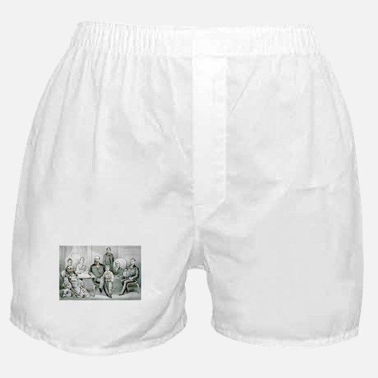 The Garfield family - 1882 Boxer Shorts