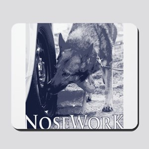 German Shepard Dog Nose Work K9 Mousepad
