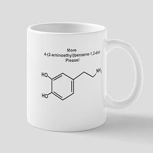More 4-(2-aminoethyl)benzene-1,2-diol {dopamine} M