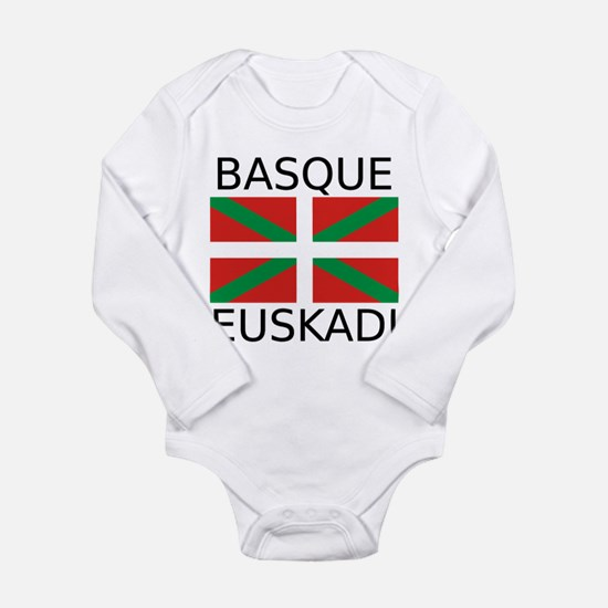 Basque - Euskadi Long Sleeve Infant Bodysuit