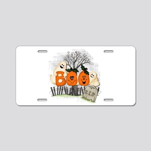 BOO Aluminum License Plate