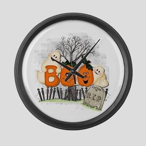 BOO Large Wall Clock