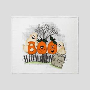 BOO Throw Blanket