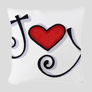 Joy Woven Throw Pillow