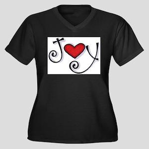 Joy.jpg Plus Size T-Shirt