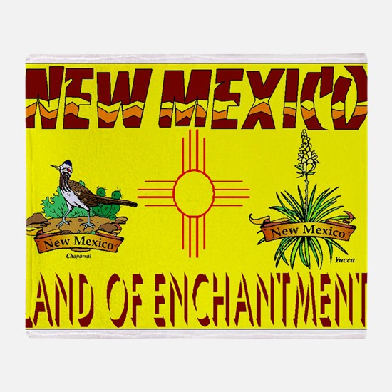 new mexico.jpg Throw Blanket