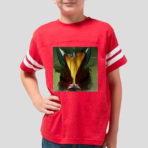 DragonSmoke_queen_duvet Youth Football Shirt