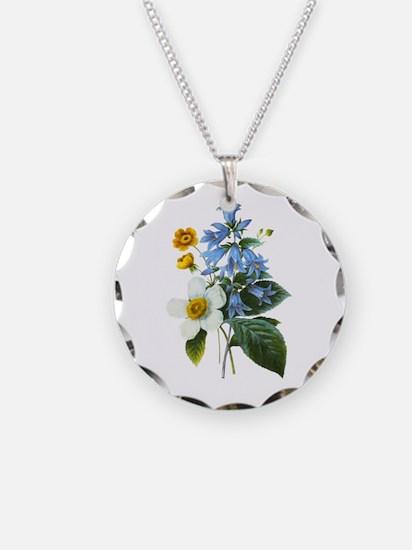 Redoute Bouquet Necklace