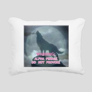alpha werewolf Rectangular Canvas Pillow