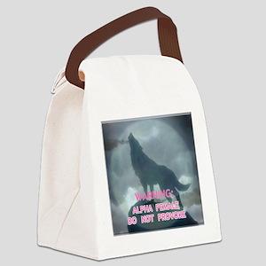 alpha werewolf Canvas Lunch Bag