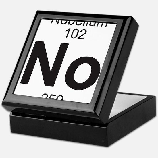 Element 102 - No (nobelium) - Full Keepsake Box